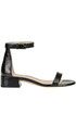 Lessnudist brushed leather sandals Stuart Weitzman