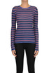 Striped lurex pullover Happy Sheep