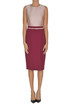 Bicoloured sheath dress Max Mara Studio