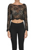 Cropped lace top Patrizia Pepe