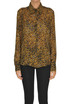 Animal print silk shirt True Royal