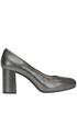 Metallic effect suede pumps Unisa