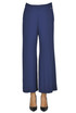 Cropped crepe trousers Twin-set  Simona Barbieri