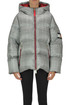 Prince of Wales print down jacket Tommy Hilfiger Collection