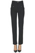 Cotton slim trousers Isabel Marant