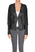 Fringed leather jacket Patrizia Pepe