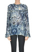 Printed crepè blouse Just Cavalli