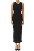Draped cotton dress James Perse