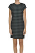 Checked print sheath dress Love Moschino