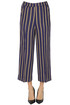 Pinstriped cropped trousers Kiltie