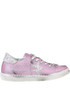 Glittered leather sneakers 2Star