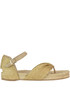 Lurex fabric flip flop sandals Paloma Barcelò