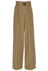 Wide leg cotton trousers N.21