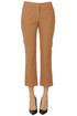 Cropped chino trousers Gold Case