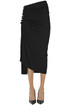 Draped pencil skirt Paco Rabanne