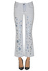 Printed stars jeans Stella McCartney