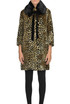 Animal print eco-fur coat De'Hart