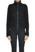 Bouclè cloth down jacket Moncler