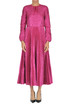 Metallic effect fabric long dress RED Valentino