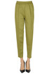 Viscose-blend trousers 8PM
