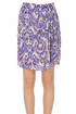 Printed silk mini skirt Isabel Marant Etoile