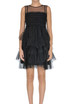 Flounced tulle mini dress RED Valentino
