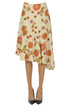 Flower print midi skirt Dodo Bar Or