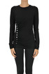 Draped jersey top Paco Rabanne