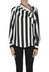 Striped crepè blouse MSGM