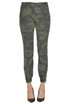Camouflage cargo trousers Mason's