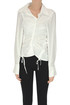 Draped cotton blouse Jacquemus