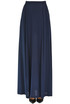 Silk long skirt Semi Couture