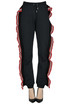 Ruched fleece trousers MSGM