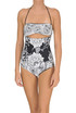 Printed swimsuit Twin Set Beachwear