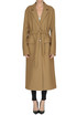 Wool-blend long coat Pinko