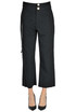 Cropped cotton trousers Loewe