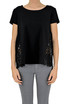 Sangallo lace insert t-shirt Ermanno by Ermanno Scervino