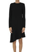 Flared asymmetric dress Tibi
