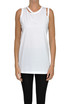 Cut-out cotton tank top Maison Margiela