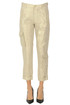 Cargo style metallic effect trousers Mason's