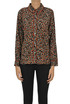 Animal print viscose shirt Bellerose