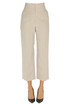 Pinstriped linen trousers Racil