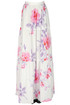 Flower print cotton long skirt PHILOSOPHY di Lorenzo Serafini