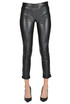 Eco-leather skinny trousers Twinset Milano