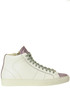 Sneakers high top in pelle  P448