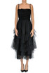 Flounced tulle dress RED Valentino