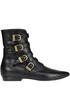 Leather boots with straps PHILOSOPHY di Lorenzo Serafini