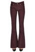 Corduroy flared leg trousers Dondup
