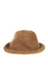 Structured mohaor hat Dondup