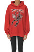 Oversized hooded sweatshirt MSGM